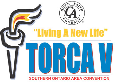 torca 2001, southern ontario cocaine anonymous