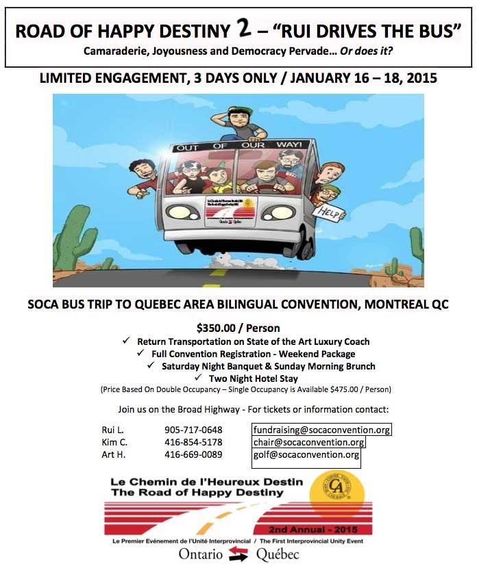 soca 2015 montreal bus trip