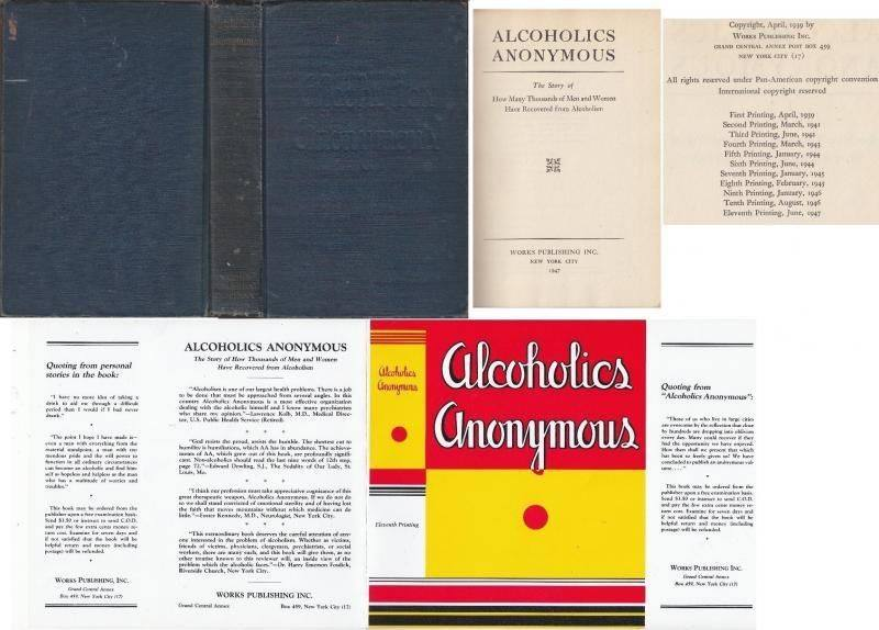 Big Book of Alcoholics Anonymous, 1st Edition