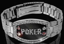 sobriety poker bracelet